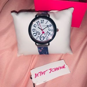 Betsy Johnson watch NWT